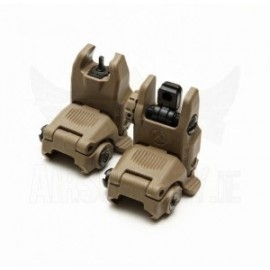 Mechanical FBUS RIS Sight Set Gen2 tan [FMA]