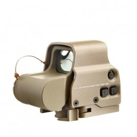 XPS 3-2 Red/Green Dot & QD Mount tan