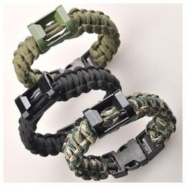 Multifunctional Safety Rope Survival Bracelet w whistle (Quick Release Buckle) kh