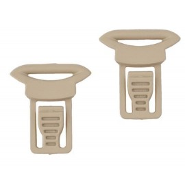 Goggle Swivel Clips tan