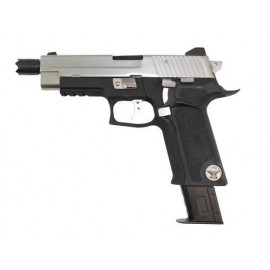 Pistola F226 P Virus Black/Silver [WE]