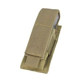Bolsa single magazine pistola tan [Condor]