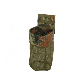 Dump pouch roll up flecktarn