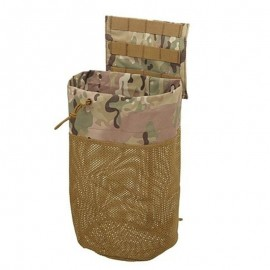 Dump pouch roll up multicam