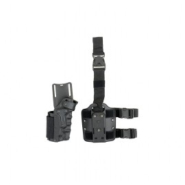 Holster ambidextrous adjustable bk