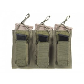 Triple Open Top Magazine Pouch Pistol fg