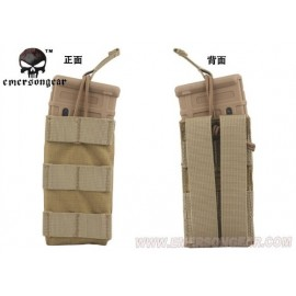 Modular Open Top Single MAG Pouch tan