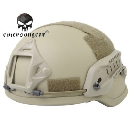 Helmet ACH MICH 2002 Special version tan