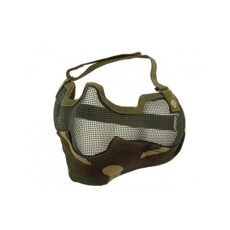 V2 Strike Steel Half Face Mask wl