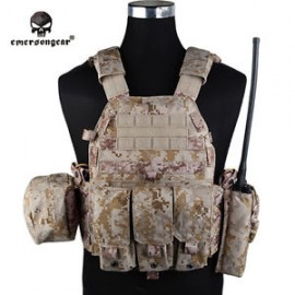 Plate Carrier LBT6094A style 3 pouches /AOR1