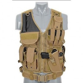 Tactical vest 8FIELDS tan