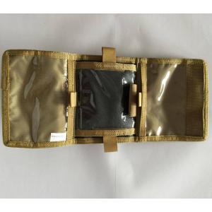 Bolsa de braço porta mapa/identificação tan