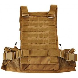 Colete tatico MOLLE tan SWISS ARMS