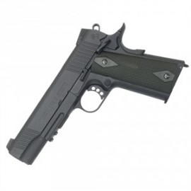 Pistola 1911 Rail CO2 GBB bk [CYBERGUN]