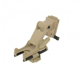 Helmet mount PVS scope Tan