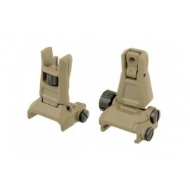 Front & Rear Back-Up Sight Set Gen. 3 earth