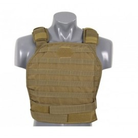 Colete Carrier Plate Hard Armor tan