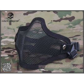 V1 Strike Steel Half Face Mask bk