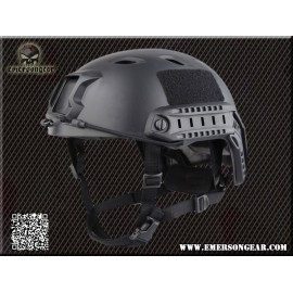 FAST BJ Helmet w Quick Adjustment bk [EM]