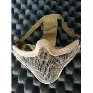 V1 Strike Steel Half Face Mask tan [EM]