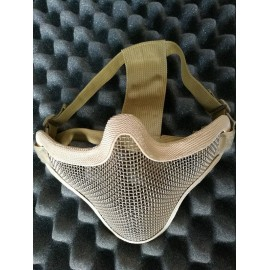 V1 Strike Steel Half Face Mask tan [EM]