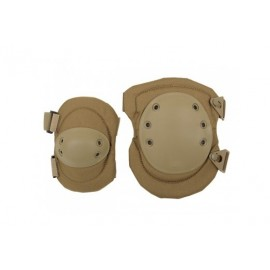Knee & Elbow Pads Set Alta System tan 8FIELDS