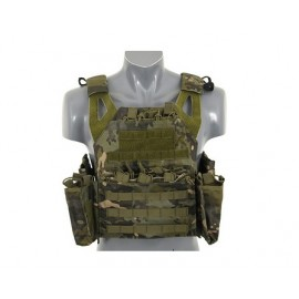 Plate Carrier w dummy SPAI plates, pouch set cp