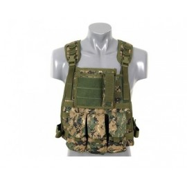 Plate Carrier Harness digital woodland [8FIELDS]