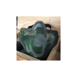 V1 Strike Steel Half Face Mask jungle camo [EM]