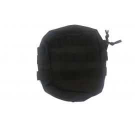 Medium Zipped Util PMC Pouch bk [NUPROL]