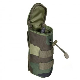 Pouch BB bottle molle woodland