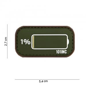 Patch 3D PVC Low Power od/brown