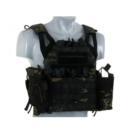 Plate Carrier w dummy SPAI plates, pouch set mb [8Fields]