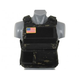 Colete Delta Soft Body Armor multicam black [8Fields]