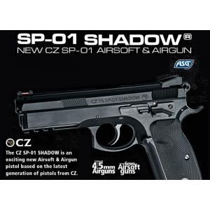 Pistola CZ SP-01 Shadow COMBI [ASG]