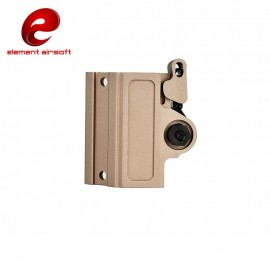 Low Profile QD Mount mod.2 for Light dark earth [element airsoft]