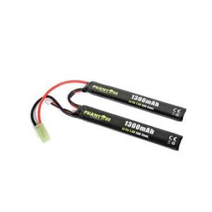 Bateria 7.4v 1300mAh 20C (2x 6.1x21x130mm) Li-Po [Phantom]