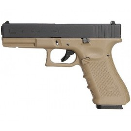 Pistola G17 Gen4 metal GBB tan [WE]