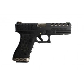 Pistola VX0101 Hex-Cut metal GBB [WE]