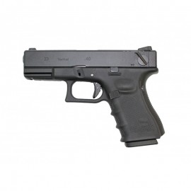 Pistola G23 metal GBB bk [WE]