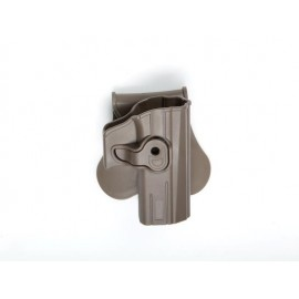 Holster CZ P-07/09 Polymer tan [ASG]