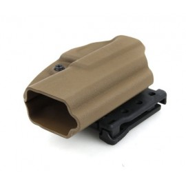 Kydex holster G17/18C/19 tan [GK Tactical]