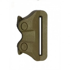 Clip ITW NEXUS GT COBRA female BUCKLE 38mm tan