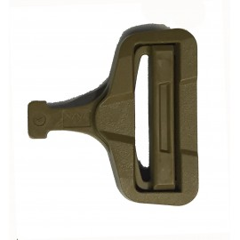 Clip ITW NEXUS GT COBRA macho BUCKLE 38mm tan