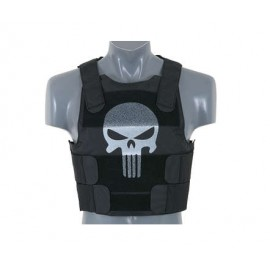 Body Armor Skull bk [8Fields]