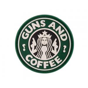 Patch rubber Guns/Coffee od