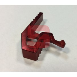 Extended Charging Handle M4 CNC Red [MCC]