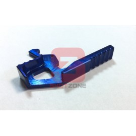Extended Charging Handle M4 CNC blue [MCC]