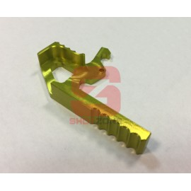 Extended Charging Handle CNC M4 yellow [MCC]