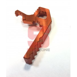Extended Charging Handle CNC M4 Orange [MCC]